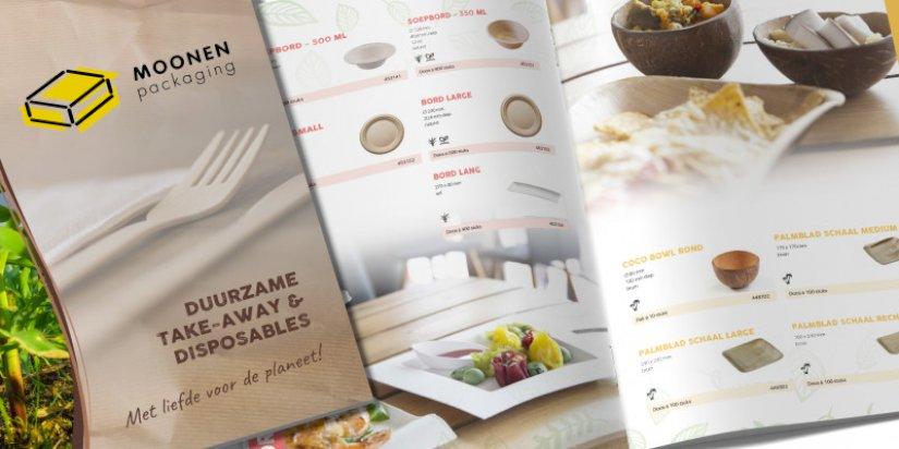 Digitale brochure take-away & disposables