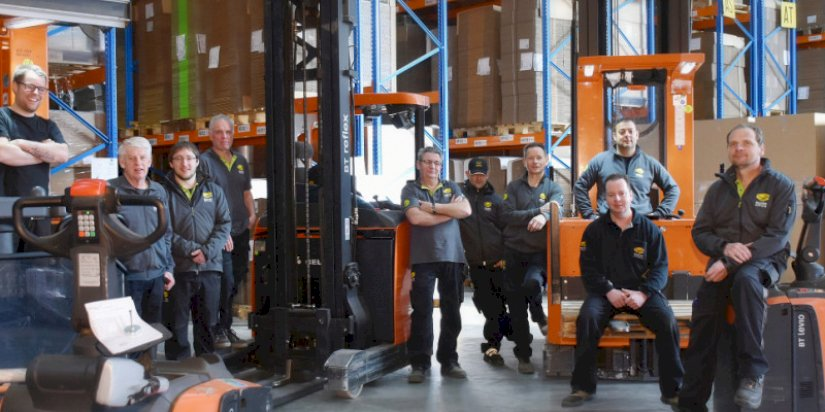 Een high five voor onze collega's logistiek