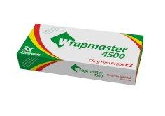Rekfolie PVC 45cmx300mtr 7my transparant, voor wrapmaster (514355)