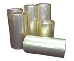 Machinefolie PVC 40cm transparant 12my kern 76mm