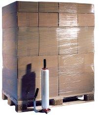6 Rol. Handstretchfolie, 45 cm x 300 m transparent 17 my