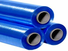 6 Rol./300 m Handstretchfolie 50 cm 20 my blau, Kern 51 mm Handwrap Cast