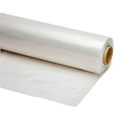50 Blatt Borstar MDPE, 150 x 350 cm 80my, transparent, perforiert