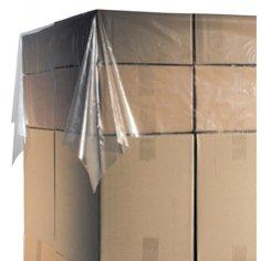 Paletten deckblatt ldpe 250x140cm 20my, transparent, Kern 76mm