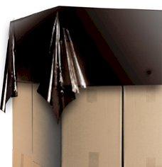 Palettenabdeckbl. LDPE recycelt 150x180cm 30my, schwarz + Abreißperforation