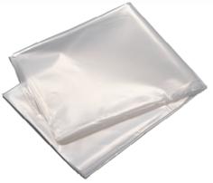 300 Palettenabdeckblätter LD recycelt 140 x 160 cm 40my halbtransparent