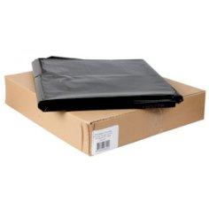 Afvalzak LDPE 80x110cm T70 zwart 140 liter 80% recycled