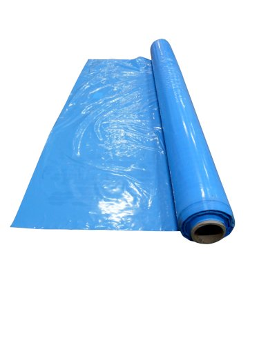 Zakken LDPE 1580x2350mm 50my blauw matrashoes 2-persoons