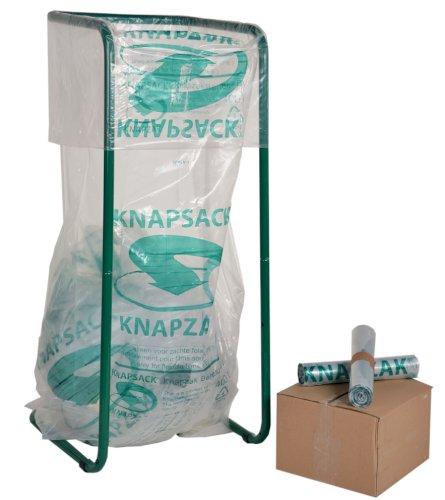 Knapzak LDPE 70/14x195cm 400ltr, 39my, KZ4-84 geperforeerd