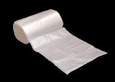Afvalzak HDPE 46x55cm transparant 7my, 10% recycled