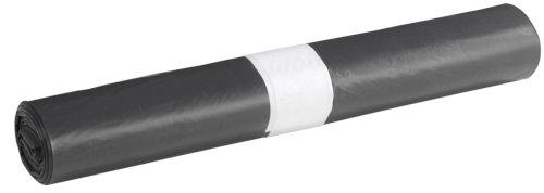 Afvalzak LDPE 46,5/22x123cm 42my, zwart