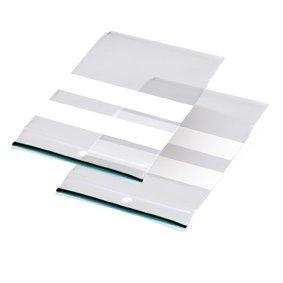 Sluitgripzak LDPE 8x12cm inclusief schrijfvlak + ophanggat