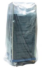 Containerhoes LDPE 90/30x210cm 20my transparant glad 50% gerecycled