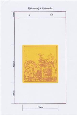 Broodzak HDPE 25x8x41+3cm 1kg rond