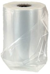 LDPE- film demi-tube 180cm (ouvert 360cm) 42 my transparent recycled