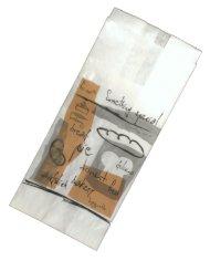 Sachets petits gâteaux kraft blanchi 0,5 livre Fri-Sch 40g, 11x8x23cm