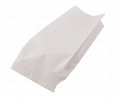Sachet pain 1kg pain rond 22+(2x5.25)x44cm kraft blanchi