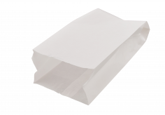 Sachet pain 1/2kg petit long/rond 17,5+(2x5,25)x38cm kraft blanchi