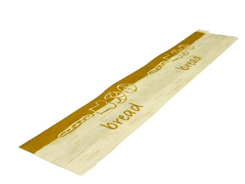 Stokbroodzak gebleekt kraft 58cm 10.5/6x58cm 40grs De Luxe (Bread)