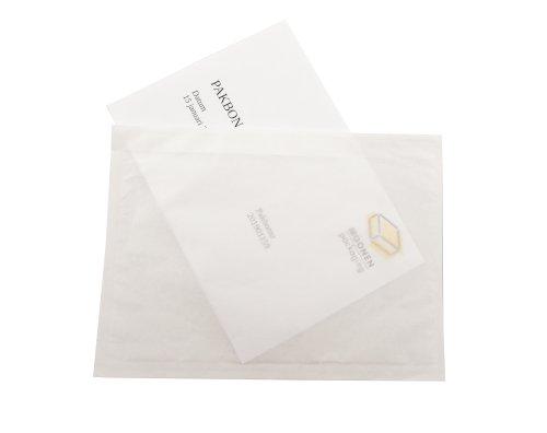 Paklijstenvelop 100% papier DL 228x120mm zelfklevend recyclebaar