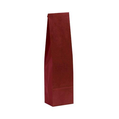 1-fleszak 12/8,5x40cm rood 70grs bruin kraft