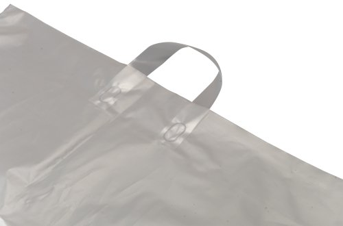 Zak MDPE 51x19,5x73cm 60my transparant speciale stans + handvat