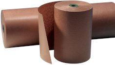 Natronkraftpapier 70grs 120cm asgat 50mm, gestreept