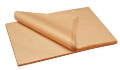 AGF-Blättern PaperWise 365 x 365 mm 70 Grs eingeschnittene Ecken