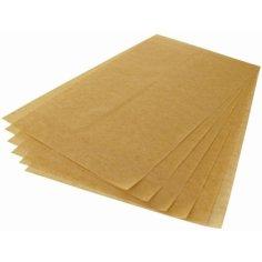 Vel siliconenpapier Saga 39x59cm bruin, 41grs, tweezijdig gesiliconeerd