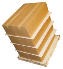 5.000 St. Antirutschpapier, 77x177cm 2 Seiten geschichtet braun