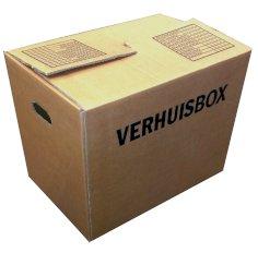 Cartons déménagement B 483x320x358mm brun 2.40, ondulé BC, 1 couleur imprimé