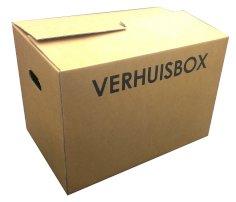 Cartons déménagement budget 480x317x330mm brun, 1.40, ondulé B, auto lock, 1 couleur? imprImé