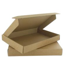 Boîtes à boîte aux lettres 310x220x28mm brun fefco 0427