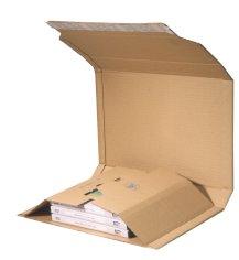 Versandverpackung 217x155x10-50mm braun, Multiwell 3 E-Welle