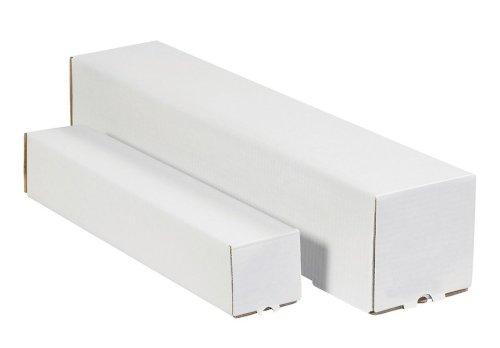 Koker vierkant 100x100x1100mm wit