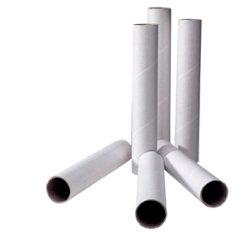 Tubes 680x70mm blanc (avec capsules)