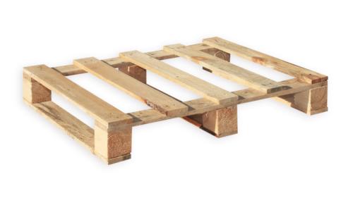 Pallet hout 60x80cm vierweg HT, 5 bovenplank. droog, schimmelvrij