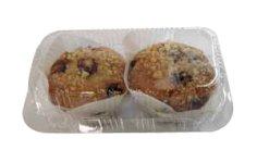 Gebaksdoos APET 191x115x95mm transparant tbv muffins