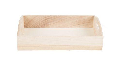 Plateau hout 31x21x7cm