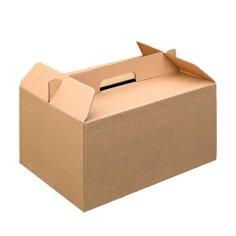 Bezorgbox 33x25x17cm kraft met handvat