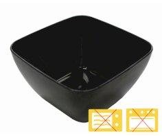 200 tasting bowl PS quadr. 5x5x3cm schwarz