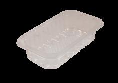 Vleesschaal PET/PE 175x103x40mm transparant