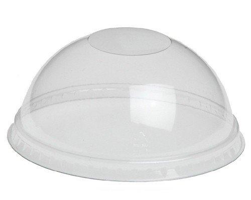 Deksel PET rond bol zonder gat 12/20oz tbv artnr. 448972