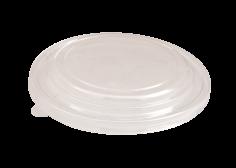 300 Deckel kraft für Suppenbecher 1200ml transparent 175mm