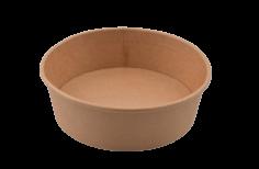 Bowl kraft 470ml 16oz bruin 148x131x46mm