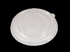 Deksel PET diAmerikaanse148mm transparant tbv kraft bowl 470ml/16oz en 750ml/26oz