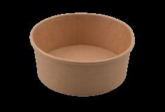 Bowl kraft 750ml (26oz) bruin diAmerikaanse ø148x60mm