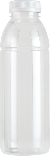 Fles RPET transparant 330cc (inclusief dop transparant)