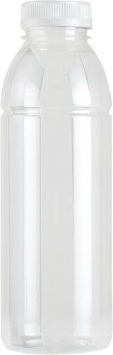 Fles RPET transparant 500cc (inclusief dop transparant)