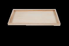 Houten serveerbord 45x25x2cm rechthoekig - degustatie